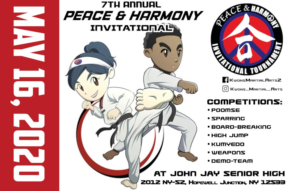 2020 Peace and Harmony Invitational